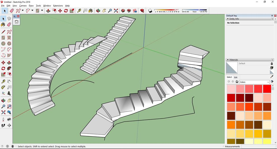how to make a shape solid in sketchup